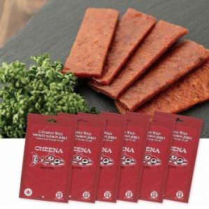 カナダ お土産 土産 おみやげ スモーク サーモンジャーキー 6袋セット 通販|arigatou-nuts