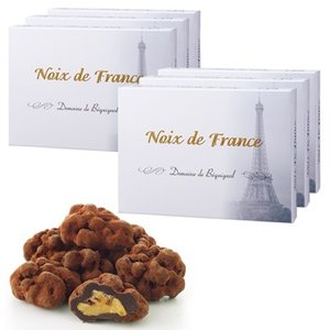 フランス お土産 土産 おみやげ ベキニョール ノア・ド・フランス くるみダークチョコレート 6箱セット 通販 arigatou-nuts