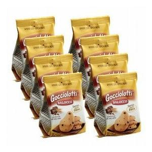 バロッコ ゴッチオロッティ チョコチップビスケット 8袋セット(イタリア お土産 イタリア 土産) 通販|arigatou-nuts