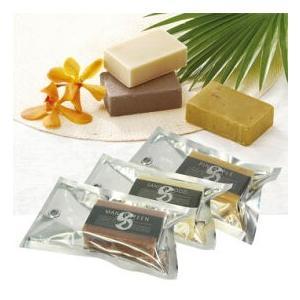 ハンドメイドソープ 3種セット (サンダルウッド・マンゴスチン・パインアップル)(タイ お土産 タイ 土産) 通販|arigatou-nuts