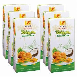 ベトナム お土産 土産 おみやげ ベトナム ココナッツクッキー 6箱セット 通販|arigatou-nuts