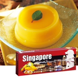 シンガポール お土産 土産 おみやげ シンガポール マンゴープリン 通販