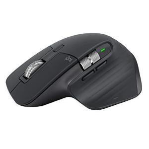 ロジクール アドバンスド ワイヤレスマウス MX Master 3 MX2200sGR Unifying Bluetooth 高速スクロールホイールの商品画像|ナビ