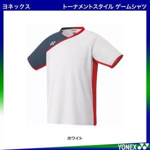 ヨネックス トーナメントスタイル ゲームシャツ フィットスタイル 10260 |arimotospshop