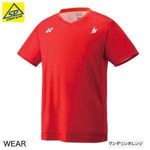 ヨネックスメンズシャツ 10295Y 380マンダリンオレンジ 数量限定 メール便可|arimotospshop