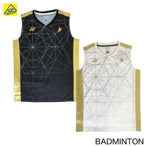 ヨネックス YONEX メンズ ゲームシャツ ノースリーブ 10333 バドミントン メール便可|arimotospshop