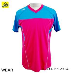 ミズノ MIZUNO ゲームシャツ 72JA6X13 男女兼用 半袖 限定品 ユニセックス メール便可|arimotospshop