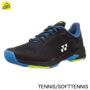 ヨネックスYONEX テニスシューズ パワークッションソニケージ2ワイドGC SHTS2WGC 188ブラック/ブルー arimotospshop