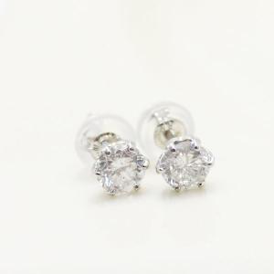 ダイヤモンド | プラチナ0.6ctダイヤモンドスタッドピアス|arinkurin2