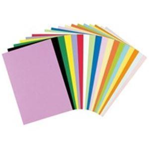 画用紙   リンテック 色画用紙工作用紙 (四つ切り 100枚) しら茶 NC1114