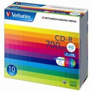 三菱化学メディア CD-R 〔700MB〕 SR80SP10...