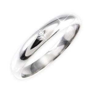 ダイヤモンド | ダイヤリング 指輪 甲丸リング 25号|arinkurin2