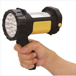 多機能 サーチライト懐中電灯 (15+12 LED型) 約166mm×91mm×131mm 単3電池対応 連続約9〜10時間使用可|arinkurin2