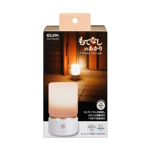 家電 | ELPA(エルパ) もてなしのあかり 据置大型 6W電球色LED HLH1202(PW)|arinkurin2
