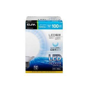 家電 | ELPA(エルパ) LED電球 G95ボール球形 100W形 E26 昼光色 広配光 LDG14DGG204|arinkurin2