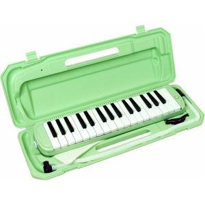 楽器   カラフル32鍵盤ハーモニカ MELODY PIANO P300132K ライトグリーン arinkurin2