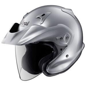 バイク用品 | アライ(ARAI) ジェットヘルメット CTZ アルミナシルバー M 5758cm|arinkurin2