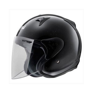 バイク用品 | アライ(ARAI) ジェットヘルメット SZG グラスブラック L 5960cm|arinkurin2
