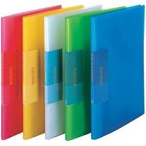 (まとめ売り×10) ビュートン 薄型クリアファイルポケットファイル (A4) 20ポケット FCBA420C レッド(赤)(1459763)|arinkurin2