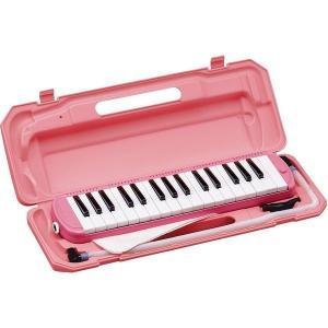 楽器   カラフル32鍵盤ハーモニカ MELODY PIANO P300132K ピンク arinkurin2