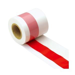 (まとめ) 紅白テープ 50m巻 403081 1巻入 (×2)|arinkurin2