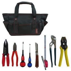 工具セット | 電気工事士技能試験工具7点セット+VAストリ...
