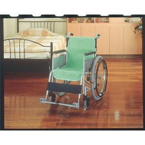 健康器具 | ケアメデイックス 車いすクッション 車椅子シートカバー(防水)2枚入グリーン 44020|arinkurin2