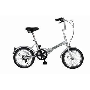 自転車(シティーサイクル) | 折りたたみ自転車スポーツバイク (シングルギア) シルバー 16インチ スチール 『FIELD CHAMP365』|arinkurin2