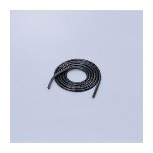エレコム ゴチャゴチャなケーブルを整理するチューブ BST6BK(×10)