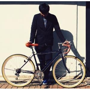自転車(シティーサイクル) | ロードバイク 700c(約28インチ)ネイビーブルー(青) シマノ21段変速 重さ14.4kg (Raychell) レイチェル RD7021R|arinkurin2