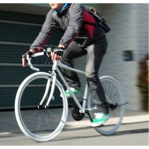 自転車(シティーサイクル) | ロードバイク 700c(約28インチ)/ホワイト(白) シマノ21段変速 重さ/14.6kg (Grandir Sensitive)|arinkurin2