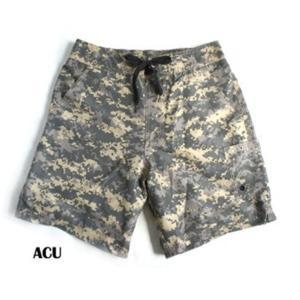 ファッション | カモフラージュショート&スイムパンツ ACU M|arinkurin2