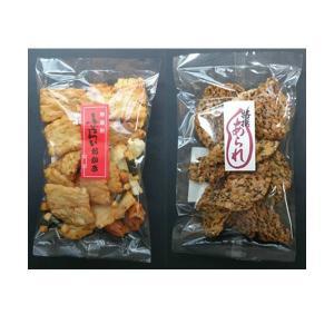 米菓子 | ごま揚丸われせん&ふぞろいおかき 2|arinkurin2