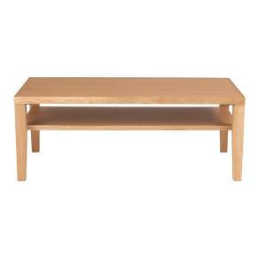 ●商品名 センターテーブル(ローテーブル/リビングテーブル) オーク 長方形 幅100cm 木製/オ...