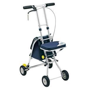 シルバーカー | 軽量シルバーカー手押し車 (コンパクトタイプ) 重量:2.95kg 幸和製作所 『ニューウォーキングIII』 バッグ付き (介護用品)|arinkurin2