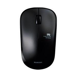 エレコム ワイヤレスLEDマウス ブラック MIR07DRBK(1826083)|arinkurin2