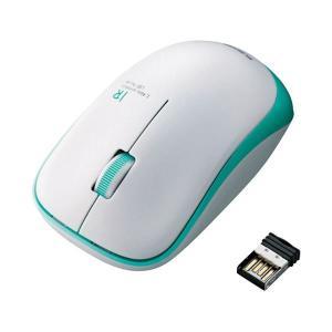エレコム ワイヤレスLEDマウス グリーン MIR07DRGN(1826084)|arinkurin2
