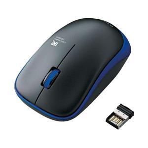エレコム ワイヤレスLEDマウス ブルー MIR07DRBU(1826085)|arinkurin2