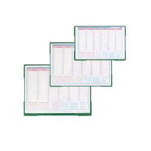 デスクマット | インサートマット(デスクマット/カレンダー付予定表) 2.3mm厚 (550mm×390mm) 日本製 NO.800|arinkurin2