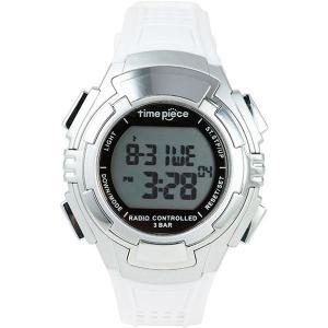 Time Piece(タイムピース) 腕時計 電波時計 ソーラー(デュアルパワー) デジタル ホワイト TPW002WH | 腕時計|arinkurin2