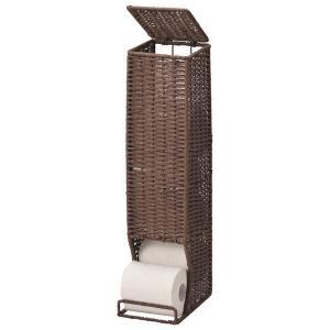 その他トイレ用品 トイレ用品 生活用品 インテリア 雑貨 紙紐で編んだアジアントイレットペーパースト...
