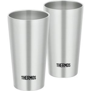 (THERMOS サーモス) 真空断熱タンブラーカップ (2個セット) 300ml ステンレス製 | タンブラー|arinkurin2