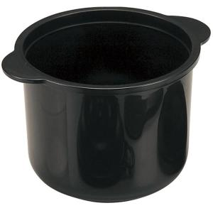 電子レンジ専用 炊飯器 (2合炊き) 日本製 備長炭配合 耐熱仕様 計量カップ 飯ベラ付き 『ちびくろちゃん』|arinkurin2