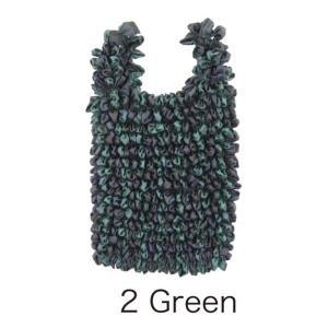 バッグ | HAM−11絞りバッグ Green|arinkurin2