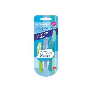 (まとめ)フェザー安全剃刃 フラミンゴ ベリィ (フェイス用) (×5点セット) | スキンケア|arinkurin2