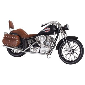 輸入雑貨 | ブリキのおもちゃ 置き物 (バイク03) 材質:鉄 (インテリアグッズ ディスプレイ雑貨)|arinkurin2