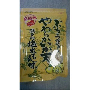 尾道発ぶちうまぁ やわらかいか天 瀬戸内塩れもん味 (4袋セット)   スナック菓子 arinkurin2