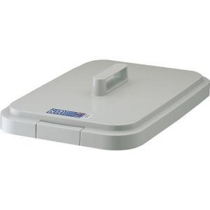 ダストボックス/ゴミ箱 (フタのみ単品) 60・70S用蓋 ライトグレー 角型 『ベルク』 (家庭用品 掃除用品 業務用) arinkurin2