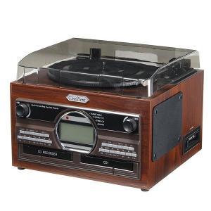 CDデッキ CDプレーヤー AV 音響機器 木目調がレトロな雰囲気を醸し出す -- 上記は検索ワード...