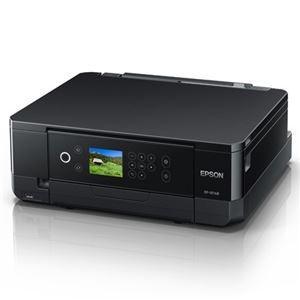プリンター   エプソン A4インクジェットプリンターカラリオ多機能6色無線LANWiFiDirect両面2.7型液晶ブラック arinkurin2